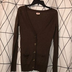 Brown Mossimo Supply Cardigan